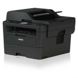 Brother L2750DW A4 Wireless Compact Mono Laser Printer All-in-One with 2.7' Touchscreen