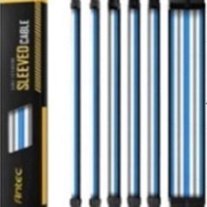 For Antec PSU -  Sleeved Extension Cable Kit V2 - Blue/White/Black