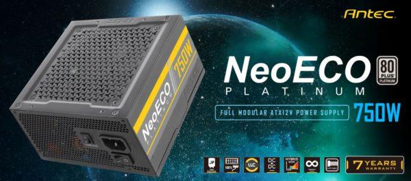 Antec 750W 80+ Platinum NEP