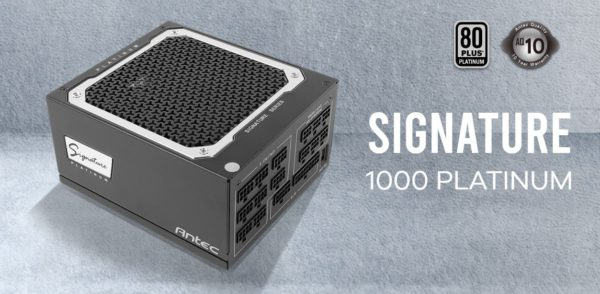 Antec SG 1000w 80+Platinum Fully Modular