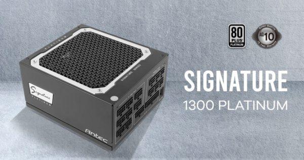 Antec SG 1300w 80+Platinum Fully Modular