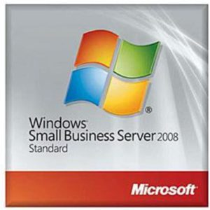 HP Microsoft Windows Small Business Server 2008 Standard Reseller Option Kit SW (504543-B21)