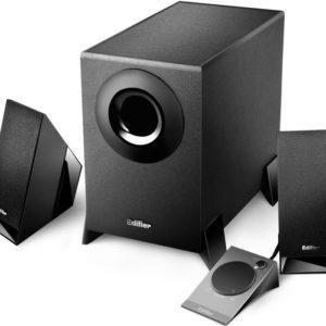 Edifier M1360 2.1 Multimedia Speakers - 3.5mm AUX/4INCH Subwoofer/Remote/RCA Remote Control input
