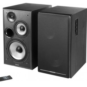 Edifier R2750DB Active 2.0 Speaker System with Sophisticated Sound in a Tri-amp Audio - Bluetooth Connection 6 1/2inch Bass Driver 136W RMS System