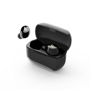 Edifier TWS1 Bluetooth Wireless Earbuds - BLACK/Dual BT Connectivity/Wireless Charging Case/12 hr playtime/9 hr Charge/8mm Magnetic Driver Earphones