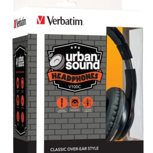 Verbatim Stereo Headphone Classic - Black