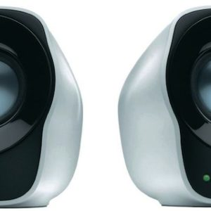 Logitech Z120 USB Powered Stereo Speakers 3.5mm Audio/Volume Control/USB - Ideal for Notebook Laptop Desktop PC
