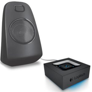 Logitech Bluetooth Adapter Audio Streaming Via Bkuetooth - Superior acoustics Long wireless range Auto re-pairing(L)