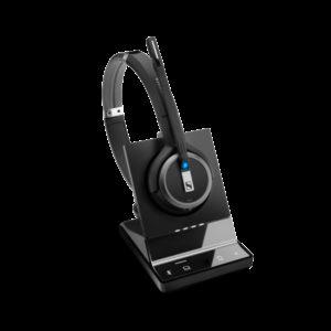 EPOS | Sennheiser Impact SDW 5063 DECT Wireless Office Binaural Headset w/ base station