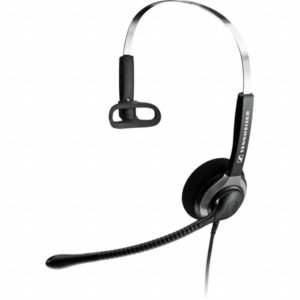 Sennheiser SH 230 Over the Head Monaural Wide Band Headset (504012)  -  Requires Easy Disconnect Cable