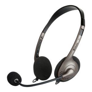 Verbatim Multimedia Headset with Boom Mic Headphone
