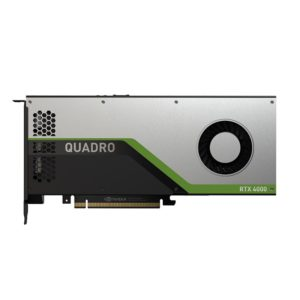 Leader nVidia Quadro RTX4000 PCIe Workstation Card 8GB GDDR6 3xDP1.4 5K 4x4096x2160@120Hz 1xVirtualLink 256-Bit 416GB/s 2304 Cuda ASUS SYSTEM BUILD