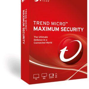 Trend Micro Maximum Security (1 Devices) 24mth Retail Mini Box
