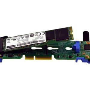 LENOVO ThinkSystem M.2 With Mirroring Enablement Kit for SR530/SR550/SR570/SR590/SR630/SR650/SR670/ST550