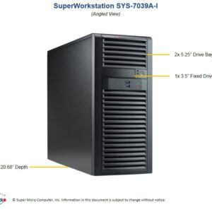 Supermicro SuperWorkstation 7039A-I