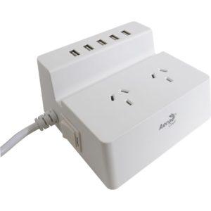 Aerocool Surge Protection Desktop Smart Charging Station