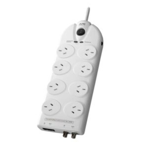 APC Essential SurgeArrest 8 outlets with Coax & Network Protection