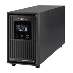 PowerShield Commander 2000VA / 1800W Line Interactive Pure Sine Wave Tower UPS with AVR. Telephone / Modem / LAN Surge Protection