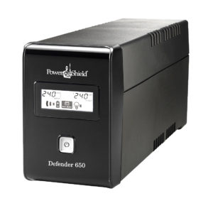 PowerShield Defender 650VA / 390W Line Interactive UPS with AVR