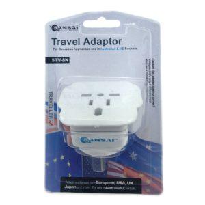 Sansai Travel Adaptor for 240V equipment from Britain