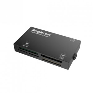 Simplecom CR216 USB 2.0 All in One Memory Card Reader 6 Slot for MS M2 CF XD Micro SD HC SDXC Black