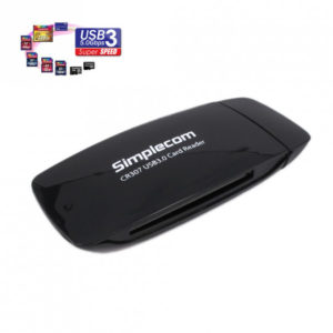 Simplecom CR307 SuperSpeed USB 3.0 Card Reader 4 Slot with CF