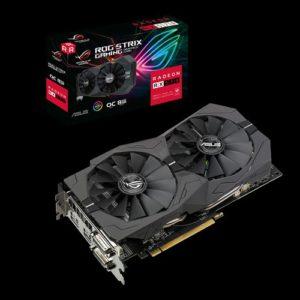 ASUS AMD Radeon ROG-STRIX-RX570-O8G-GAMING RX570 OC Edition 8GB GDDR5