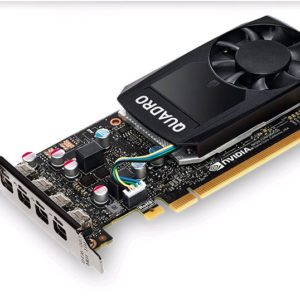 Leadtek nVidia Quadro P620 PCIe Workstation Card 2GB DDR5 4xmDP1.4 4K 4x5120x2880@60Hz 128-Bit 80GB/s 512 Cuda Single Slot Low Profile (126Q4000100)