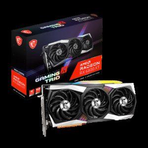 MSI AMD Radeon RX 6800 XT GAMING X TRIO 16G Video Card PCI-E GDDR6