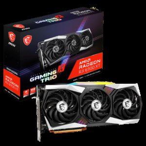 MSI AMD Radeon RX 6900 XT GAMING X TRIO 16G Video Card