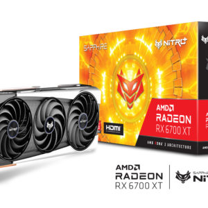 SAPPHIRE NITRO+ AMD RADEON RX 6700 XT GAMING OC 12GB GDDR6 HDMI / TRIPLE DP
